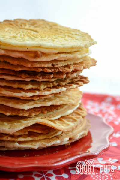 gluten free pizzelle cookies recipe