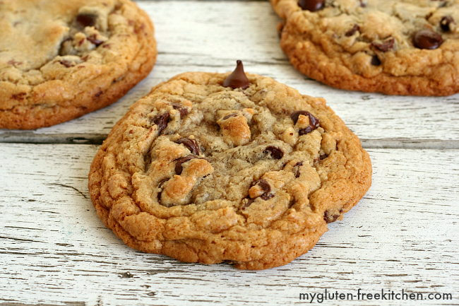 chewy chocolate chip cookie gluten free recipe