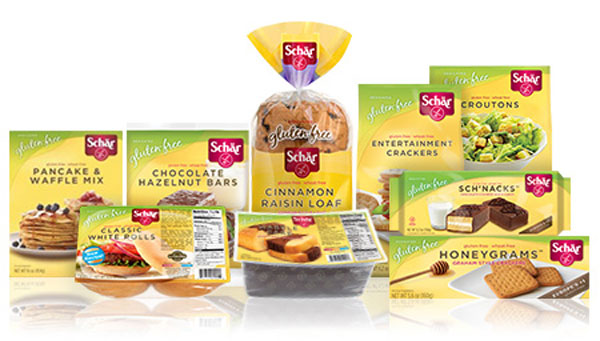 schar product selection gluten free foods