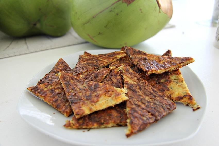 zucchini chips gluten free snack