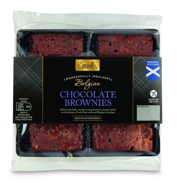 Aldi's Gluten Free Chocolate Brownies