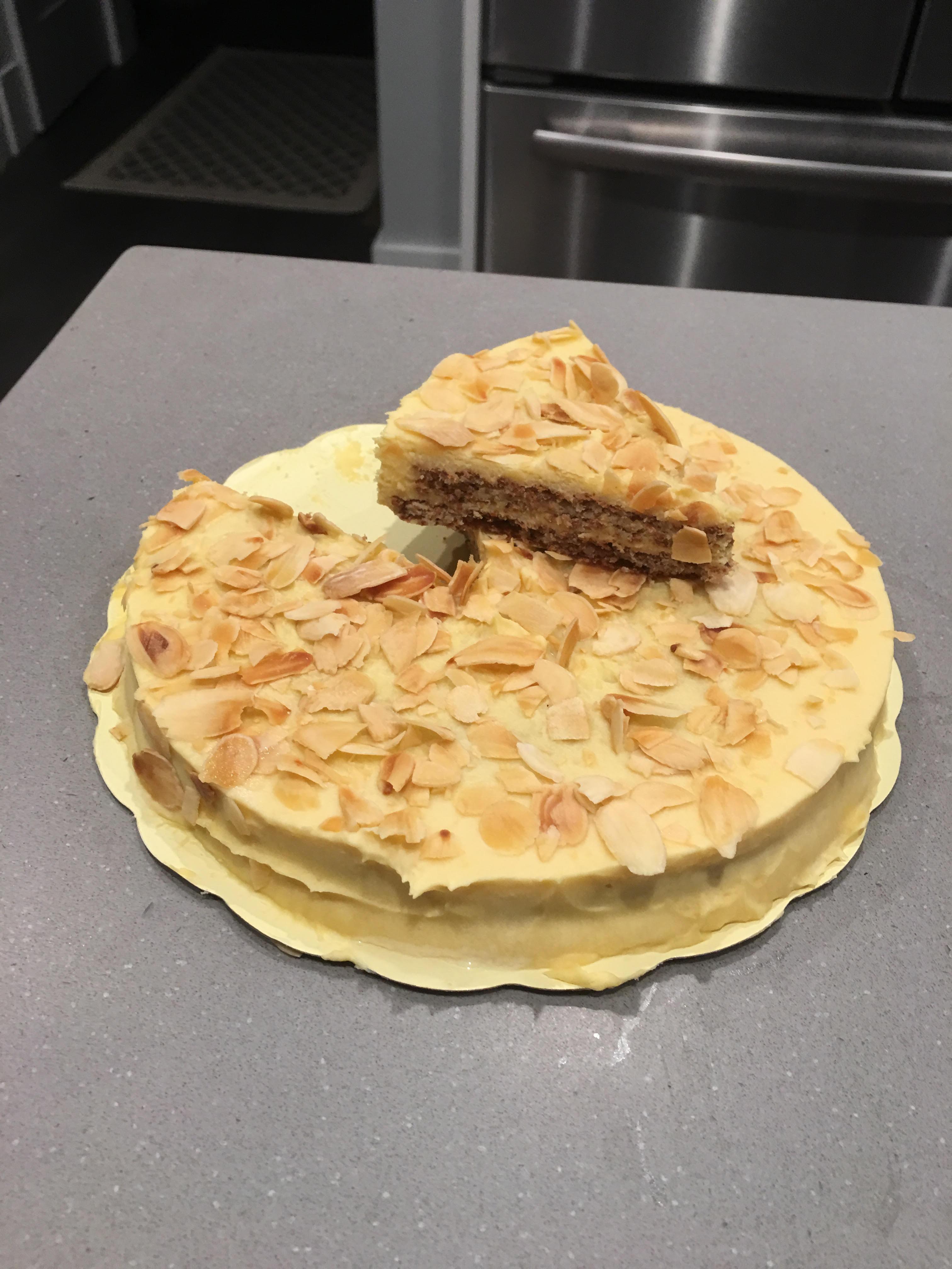 Almondy Cake Review