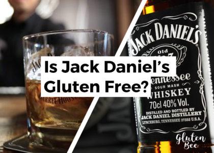 Is Jack Daniel's Gluten Free?