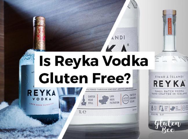 Is Reyka Vodka Gluten Free?