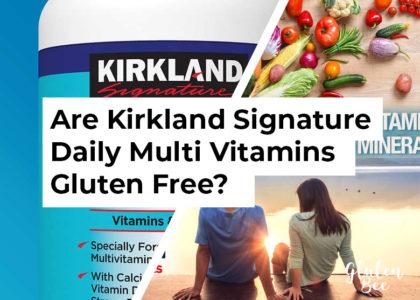 Kirkland Signature Daily Multi gluten free