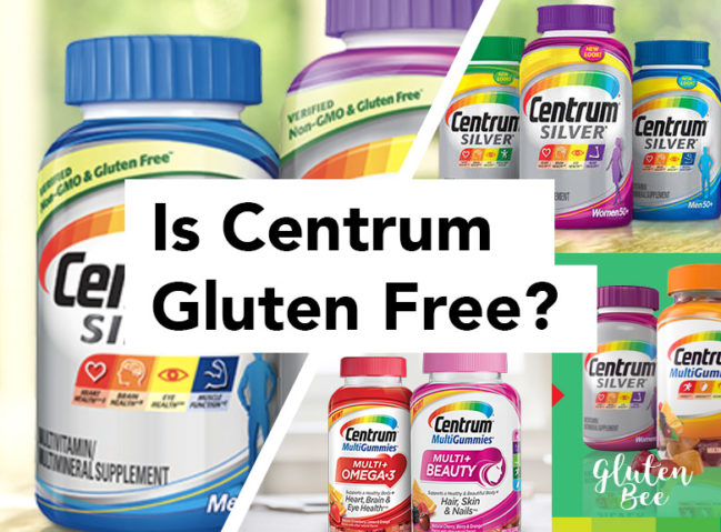 Is Centrum Gluten Free? Information about Centrum products and their ingredients.