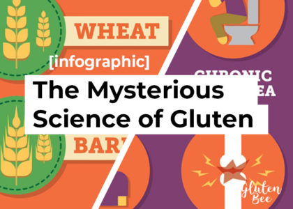 Mysterious Science of Gluten Infographic