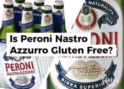 Is Peroni Nastro Gluten Free?