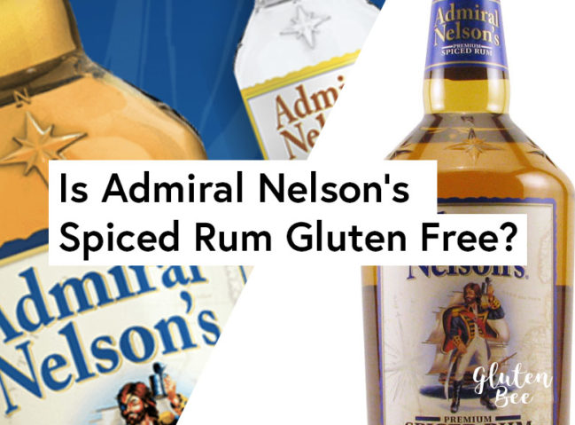 Is Admiral Nelsons Spiced Rum Gluten