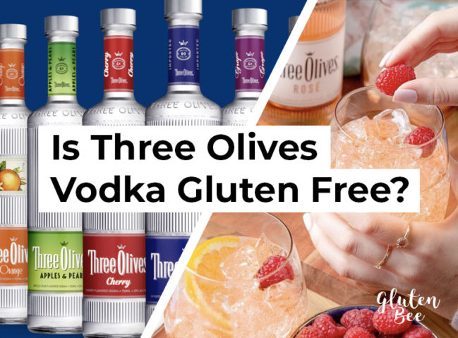 Is Three Olives Vodka Gluten Free?