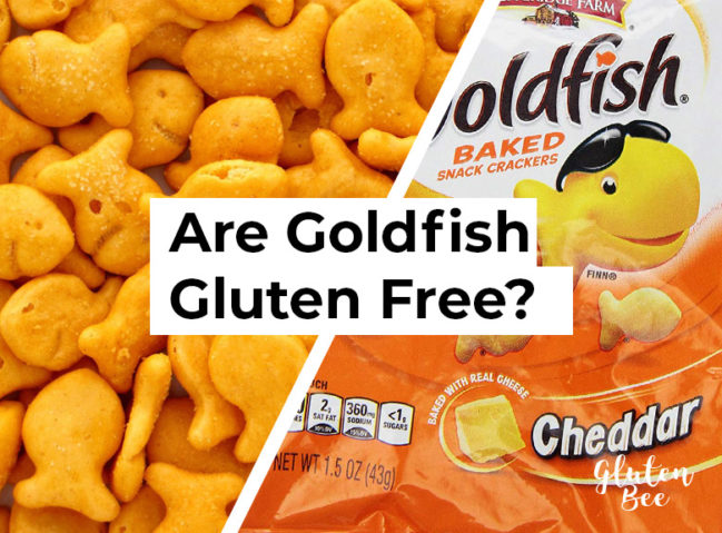 Are Goldfish Gluten Free?