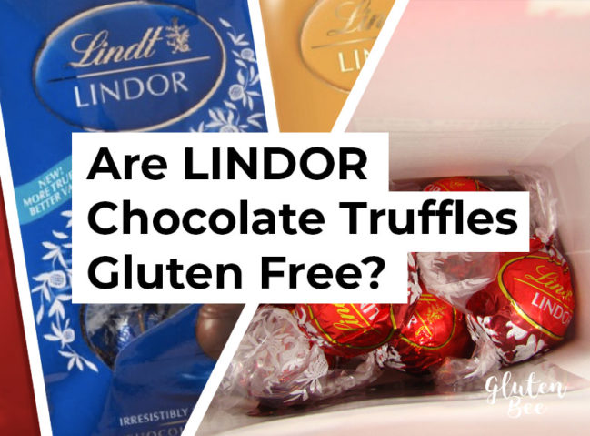 Are Lindt LINDOR Chocolate Truffles Gluten Free?