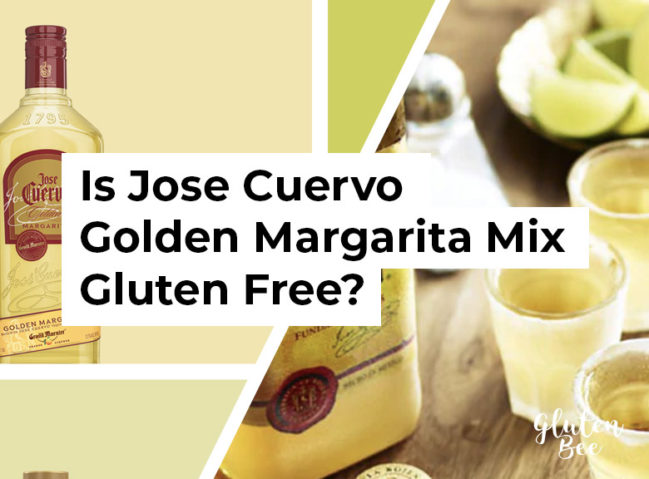Is Jose Cuervo Gluten Free? Find out about the Golden Margarita Mix, Tequilas, and more on GlutenBee.