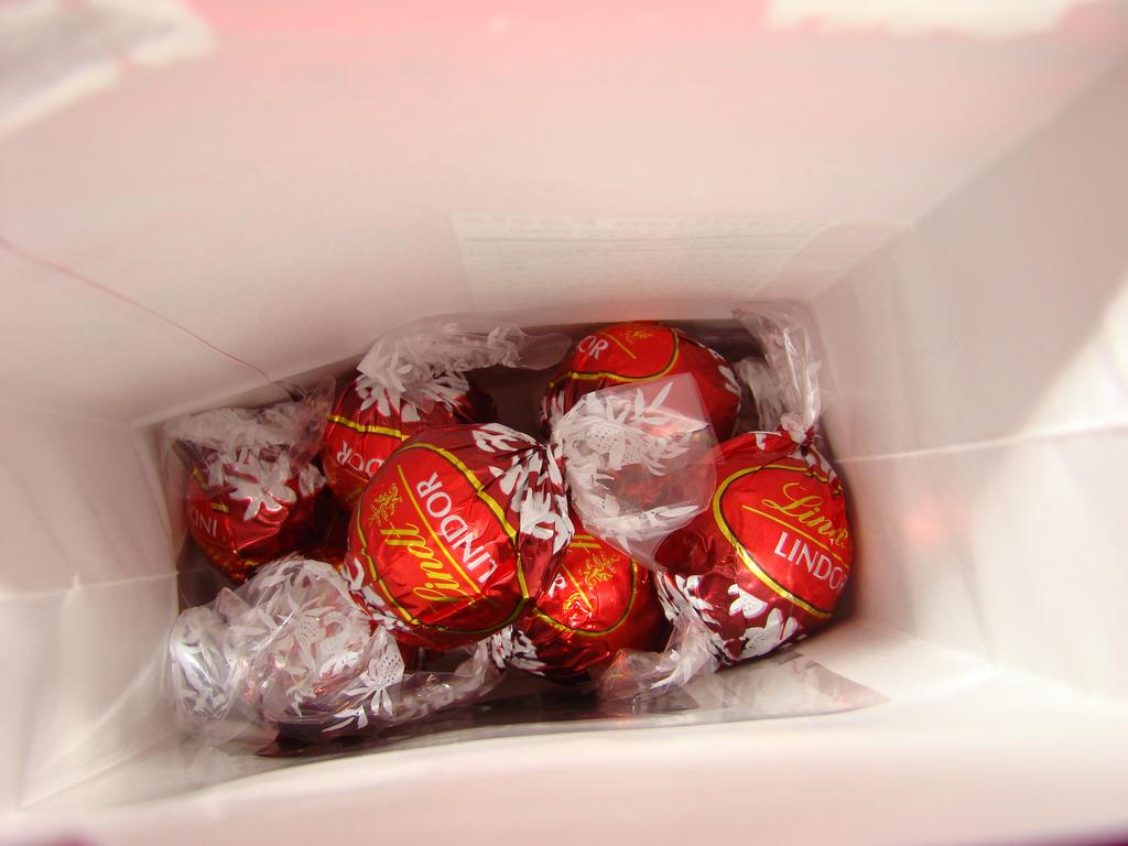 Lindt Lindor truffles chocolate