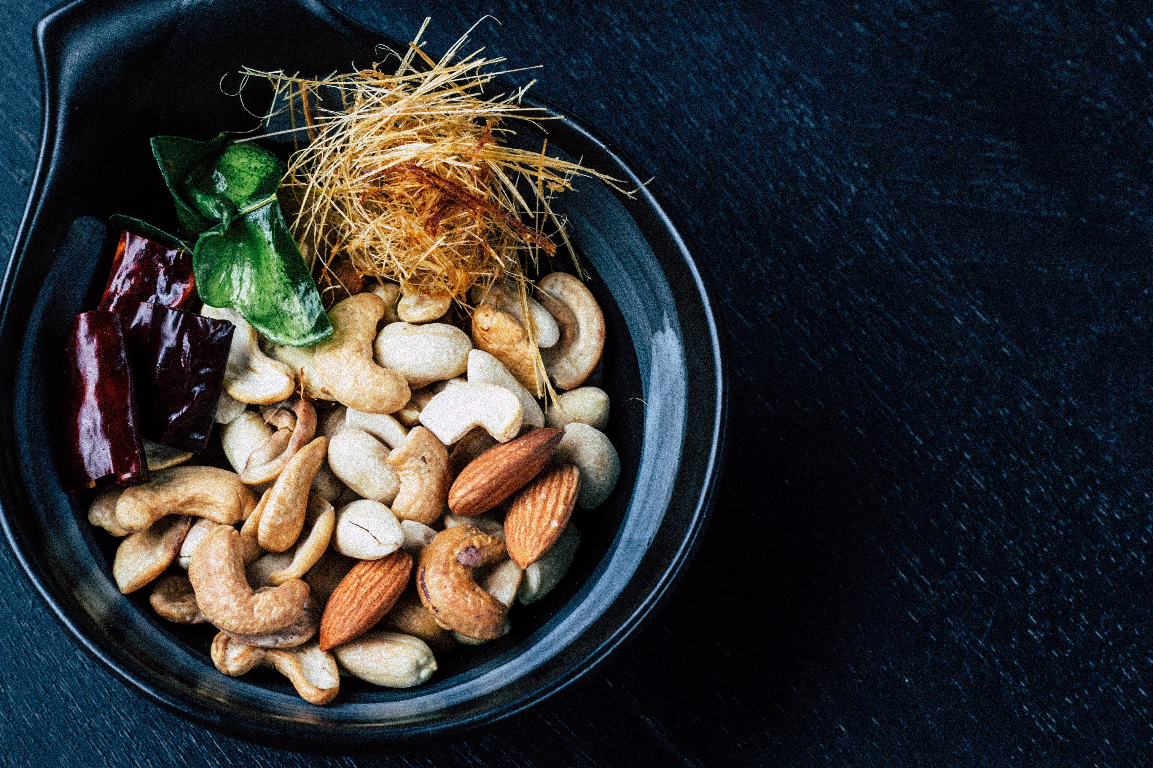 mixed nuts appetizer