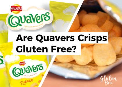 Are Quavers Gluten Free?