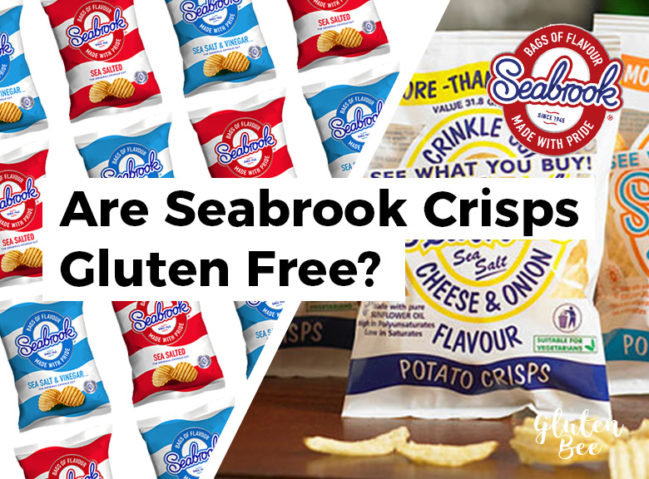 Are Seabrook Crisps Gluten Free?