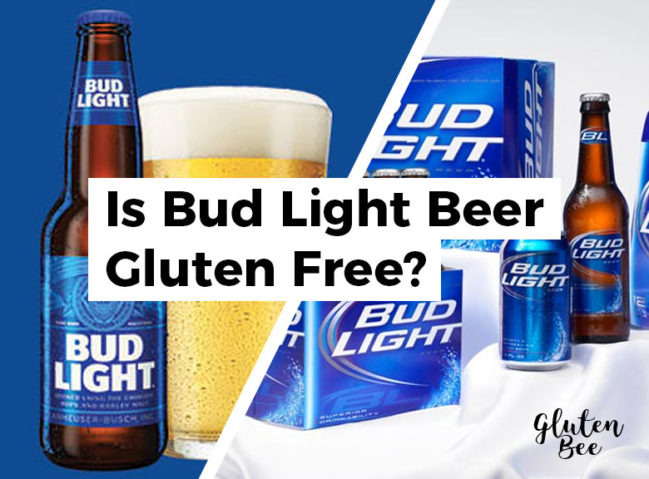 Is Bud Light Gluten Free?