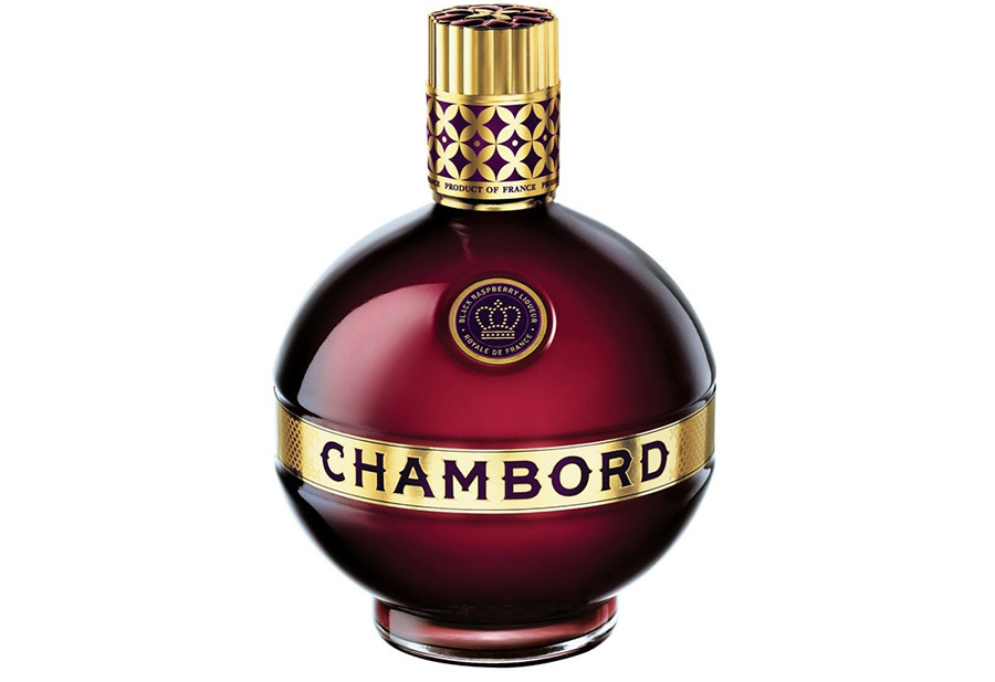 Chambord Liquer Bottle