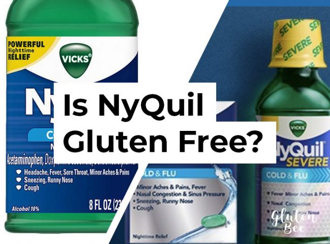 Is NyQuil Gluten Free?