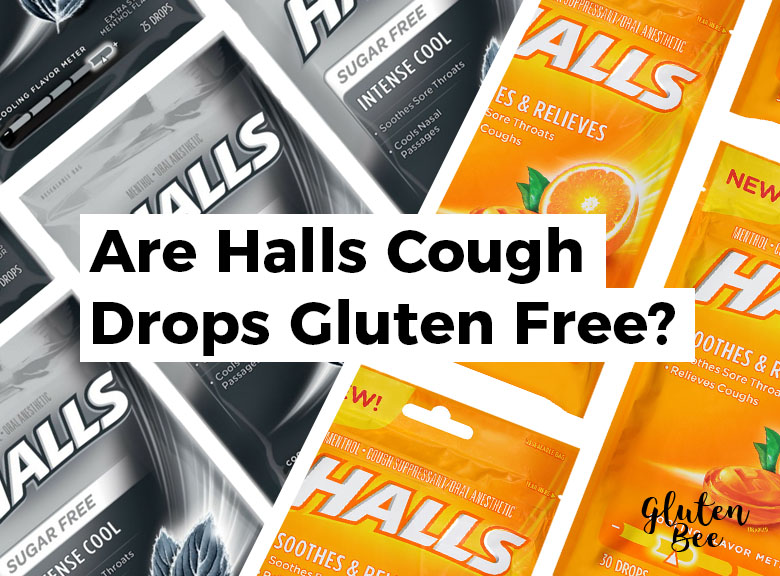 Are Halls Cough Drops Gluten Free?