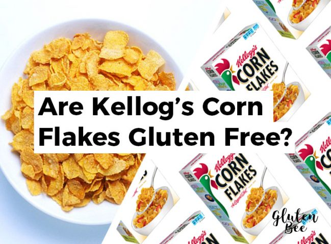 Are Kellog's Corn Flakes Gluten Free?