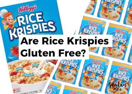 Are Rice Krispies Gluten Free?