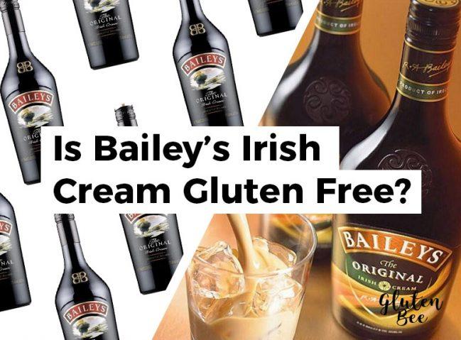 Is Bailey's Irish Cream Gluten Free?
