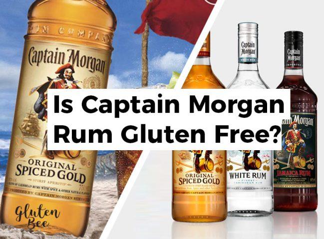 Is Captain Morgan Rum Gluten Free?