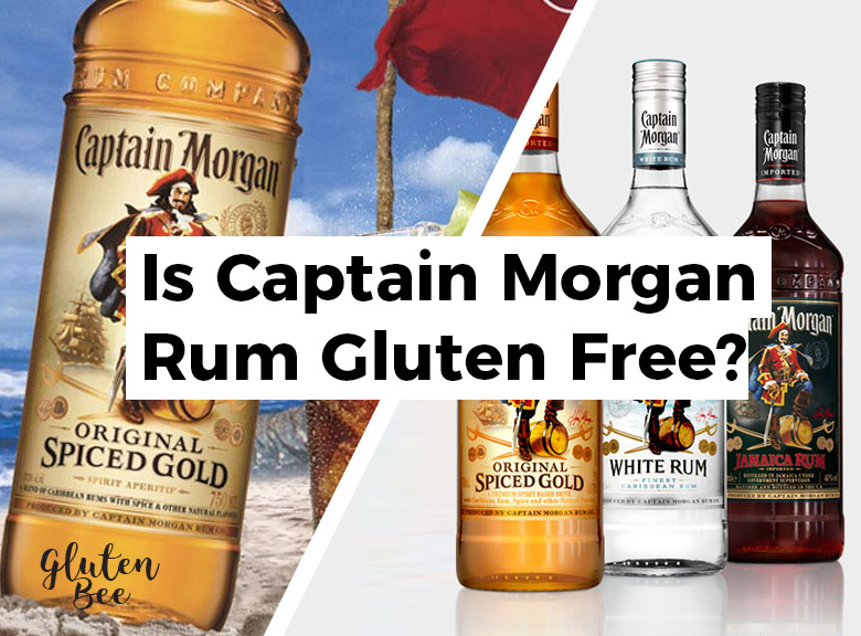Is Captain Morgan Rum Gluten Free?