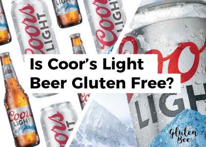 Is Coor's Light Gluten-Free?