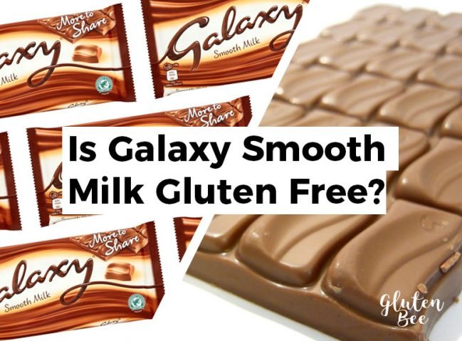 Is Galaxy Smooth Milk Gluten Free?