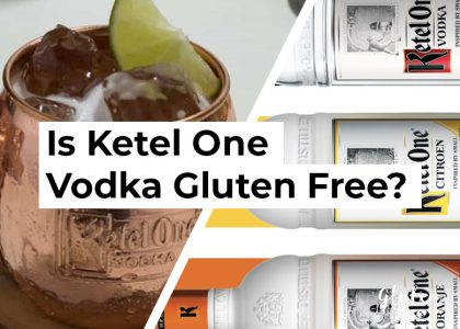 is ketel one vodka gluten free?