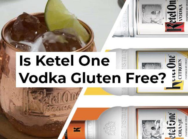is ketel one vodka gluten free?