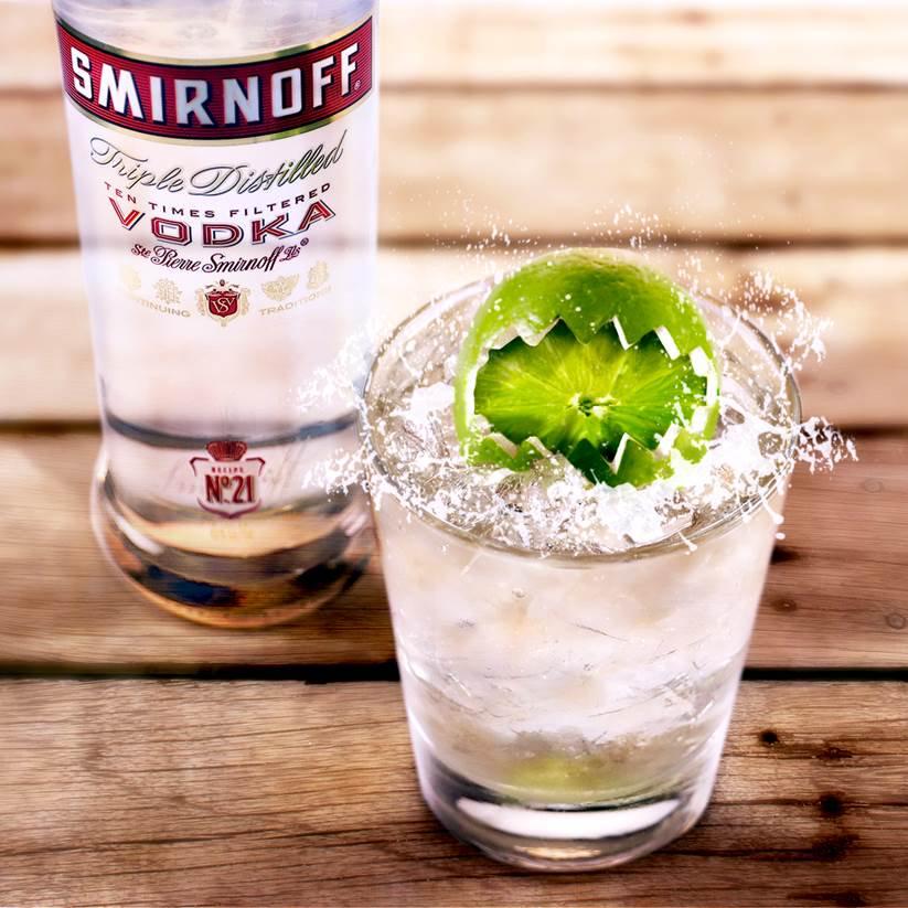 smirnoff vodka mixed drink