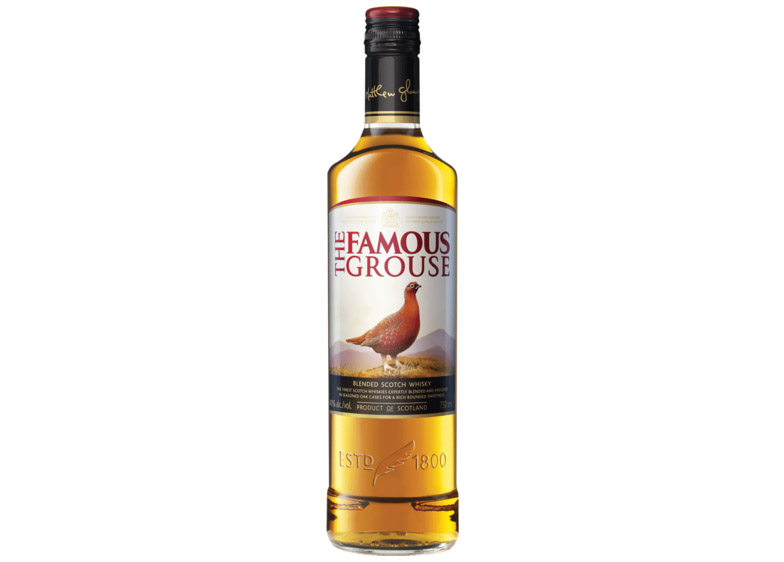 the Famous Grouse Whisky Bottle
