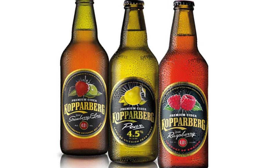 Kopparberg Cider Bottles