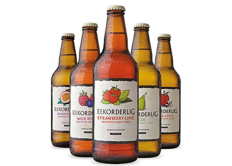 Rekorderlig Cider Bottles