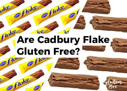 Are Cadbury Flake Gluten Free?