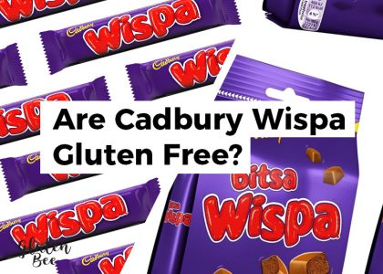 Are Cadbury Wispa Gluten Free?