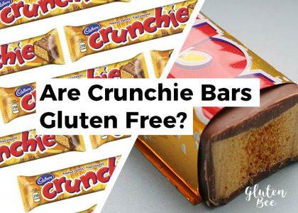 Are Crunchie Bars Gluten Free?