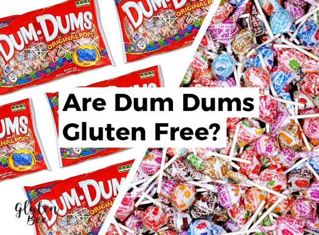 Are Dum Dums Gluten Free?