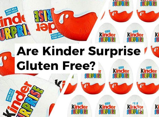 Are Kinder Surprise Gluten Free?