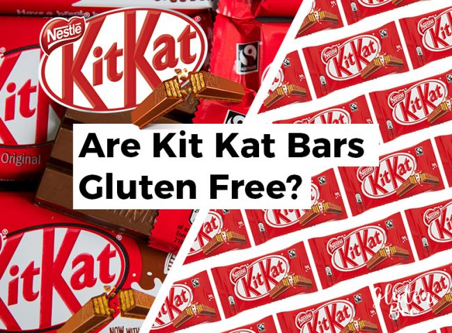 Are Kit Kat Bars Gluten Free?