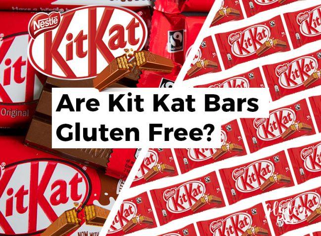 Are Kit Kat Bars Gluten Free?