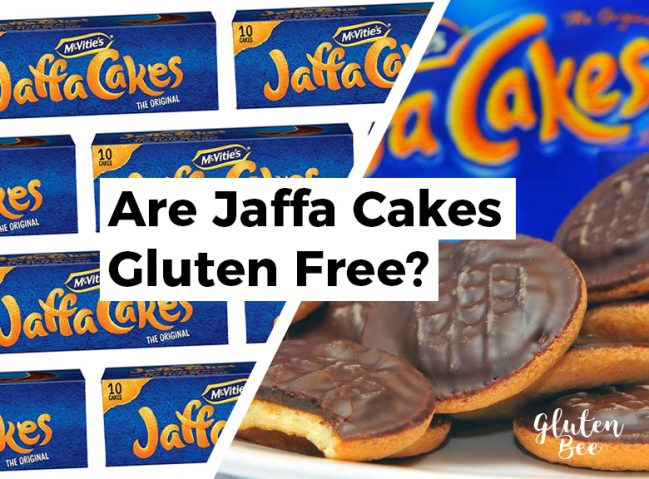 Are Mcvities Jaffa Cakes Gluten Free?