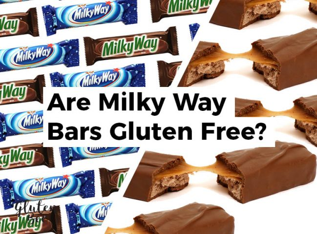Are Milky Way Bars Gluten Free?