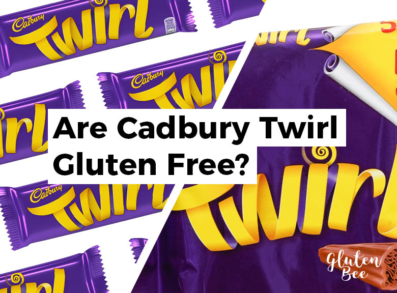 Are Cadbury Twirl Gluten Free?