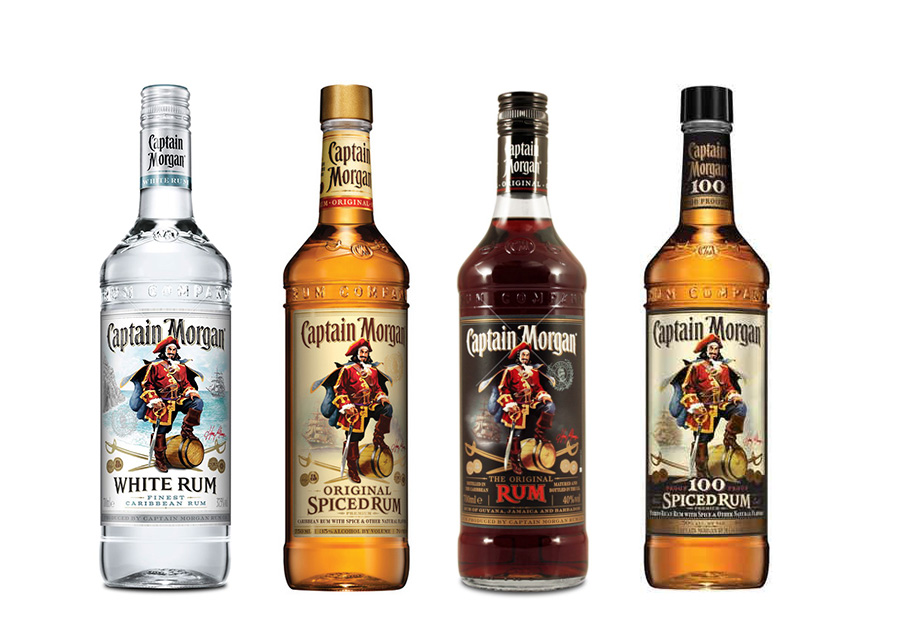 Captain Morgan Rums