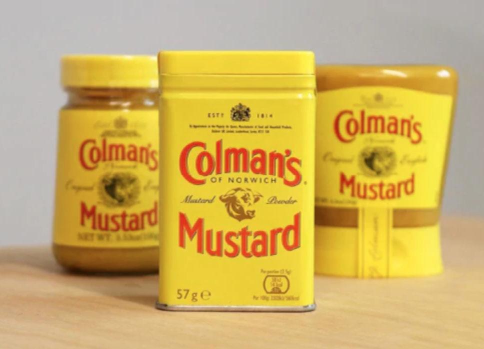 Colman's Mustard Range